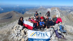 Pireneje Hiszpańskie, Monte Perdido 3355 m n.p.m.