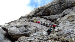 Pireneje, Ordesa. Szlak na Monte Perdido