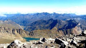 Pireneje, widok z Monte Perdido na Pireneje Wysokie