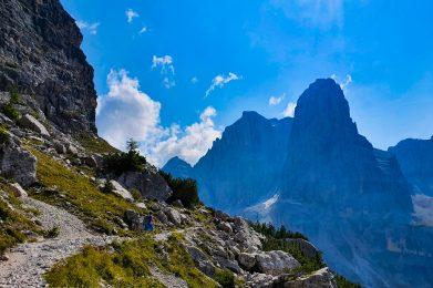 Trekking w Dolomitach Brenta /fot. A.Sawicka