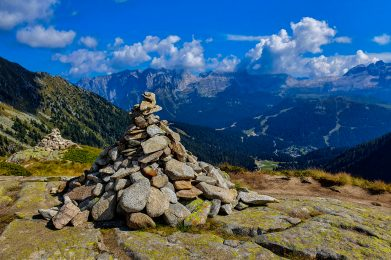 Trekking w Dolomitach Brenta/fot. A.Sawicka