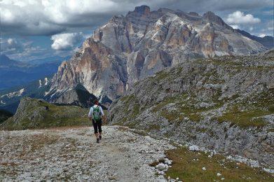 Trekking w Dolomitach/fot. A. Sawicka