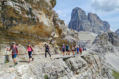 Trekking w Dolomitach
