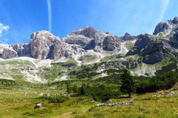 Trekking w Dolomitach Brenta. Val d'Ambiez