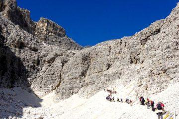 Trekking w Dolomitach. Grupa Sella (2)
