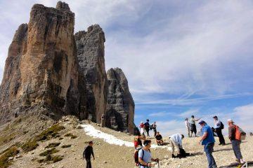 Trekking w Dolomitach. Tre Cime di Lavaredo