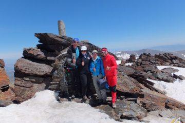 Trekking w Górach Betyckich. Sierra Nevada, Mulhacen (3478 m n.p.m.)