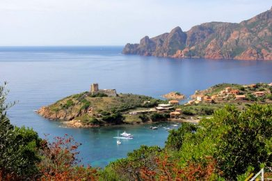 Korsyka, Girolata
