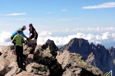 Korsyka, trekking. Szlak GR 20