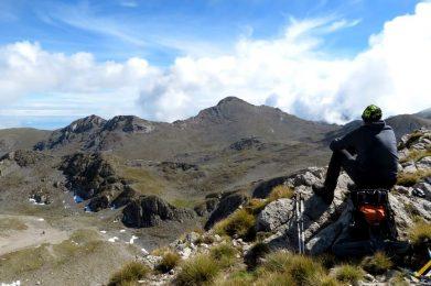 Trekking w Grecji. Góry Parnas