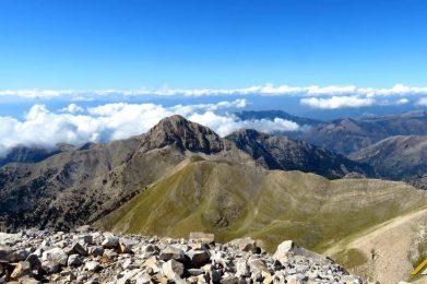 Trekking w Grecji. Góry Tajget