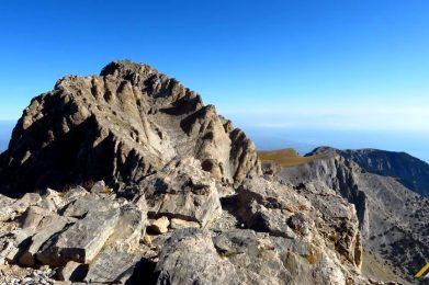 Trekking w Grecji. Olimp - Mitikas