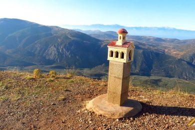 Trekking w Grecji. Park Narodowy Parnassos