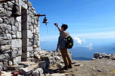 Trekking w Grecji. Profitis Ilias, Taygetos