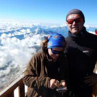 Punta Gnifetti (4552 m n.p.m.) - Rifugio Margherita