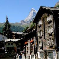 Zermatt, szwajcarskie miasto pod Matterhorn